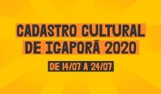 Cadastro Cultural de Igaporã 2020
